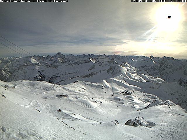 Nebelhorn - Gipfelstation