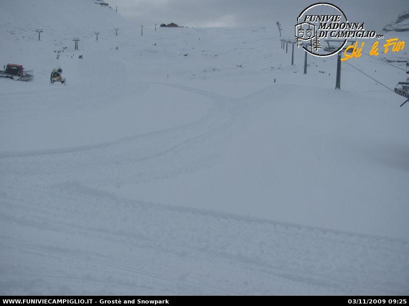 Grostè and Snowpark