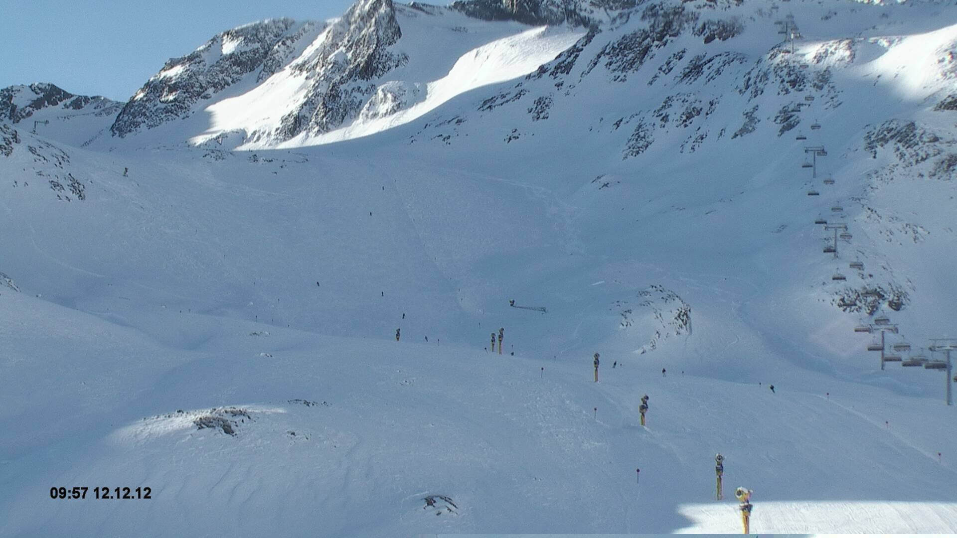 Stubaier Gletscher - Schirmbar Gamsgarten