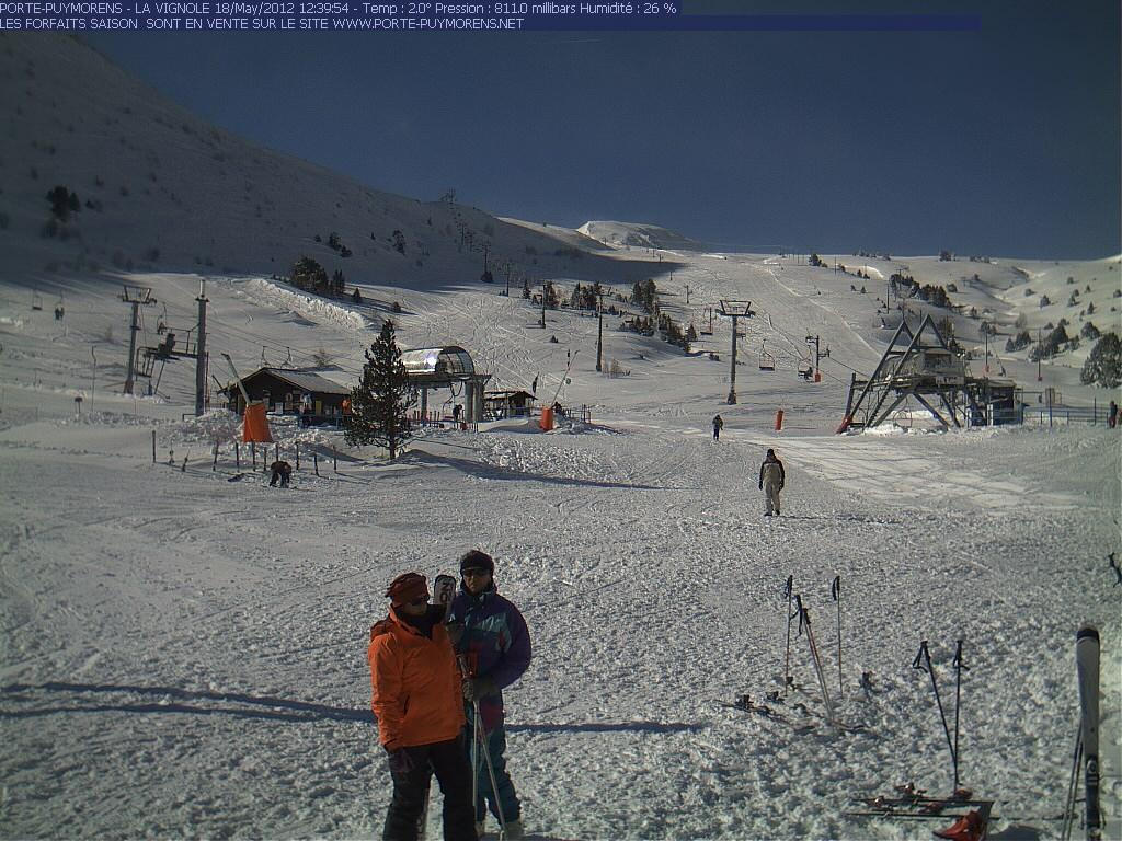Ronda de im genes de la nevada - Webcam porte puymorens ...