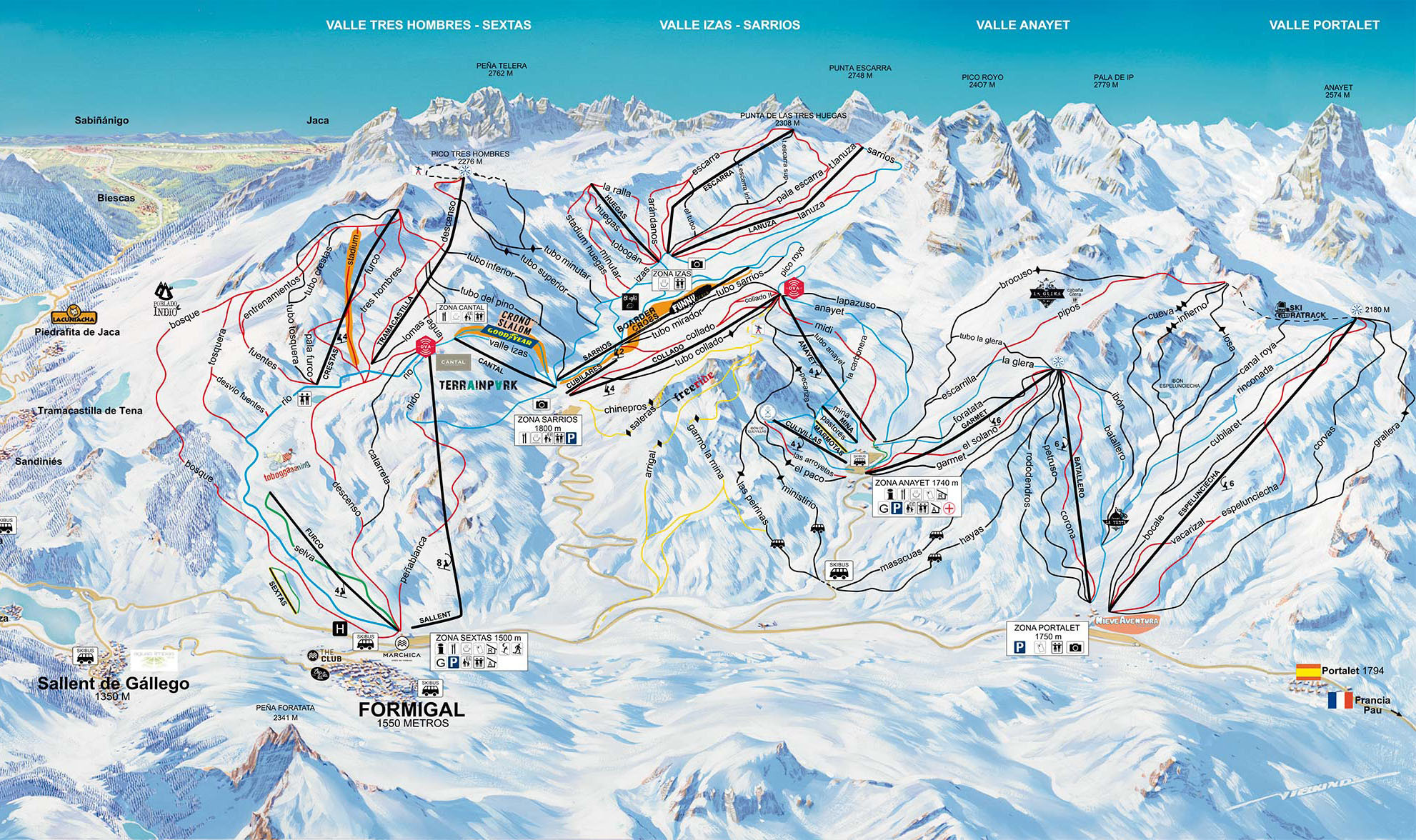 Resultado de imagen de esqui formigal 2020